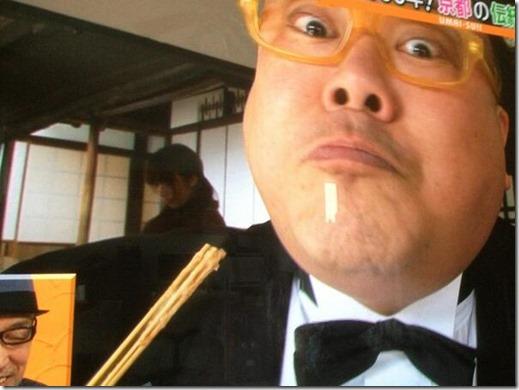 関西No.1グルメレポーター、タージン
