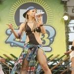 倖田來未が夏フェスでおっぱいポロリ